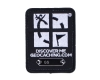 Geocaching Trackable Patch schwarz