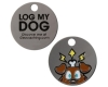 Log My Dog<br> Travel Tag