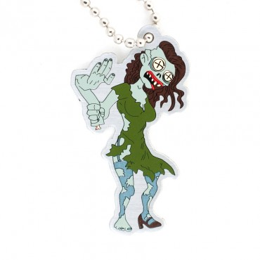 Tiffany the Zombie<br>Travel Tag